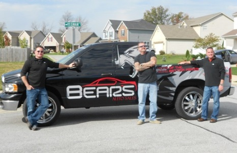 The Bear's Auto Sales Truck in Lafayette,IN