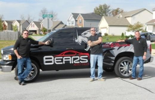 The Bear's Auto Sales Truck in Lafayette,IN