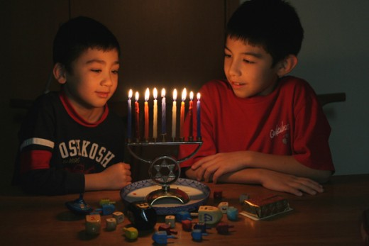 Chanukah is just one of the many religious holidays we have been able to share with our interfaith friends!