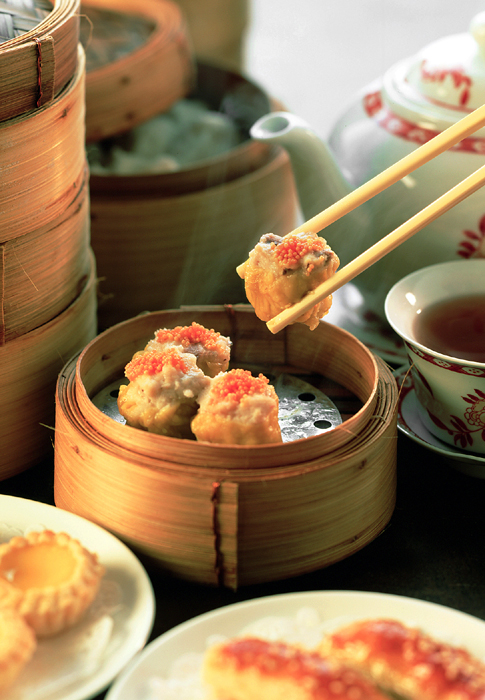 Dim Sim in our city's Chinatown is one of our weekend favorites!