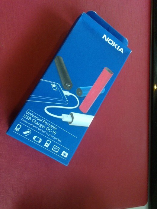 Retail package Nokia DC-16