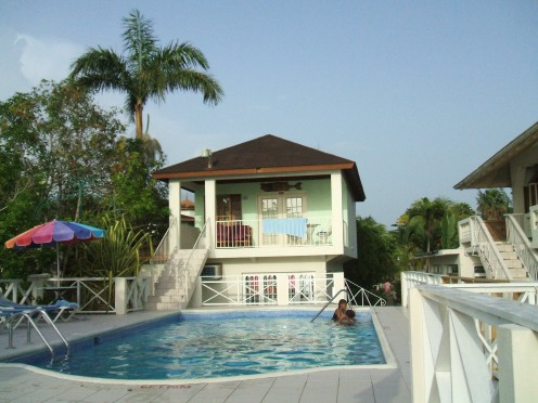 Two pools to choose from.  This is the adult pool located right on the beachfront.