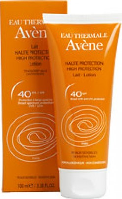 Avene's High Protection SPF 40 Sunscreen Lotion Review