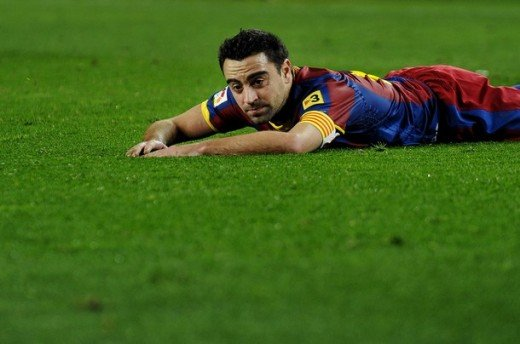Xavi is struggling.