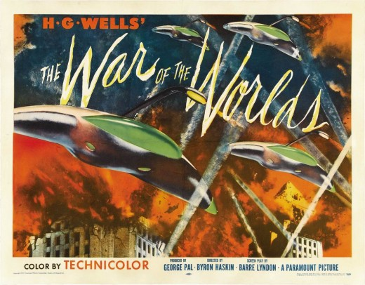 War of the Worlds (1953) poster