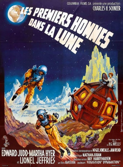 First Men in the Moon (1964) poster