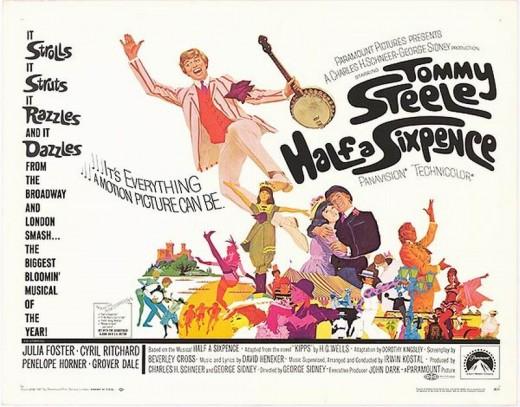 Half a Sixpence (1967) poster