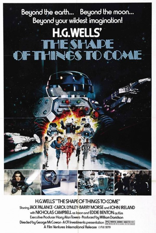 The Shape of Things to Come (1979) poster