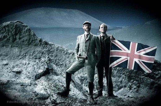 Mark Gatiss and Rory Kinnear in The First Men in the Moon (2010)