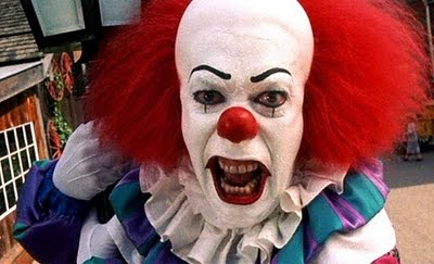 Pennywise-up close and personal!