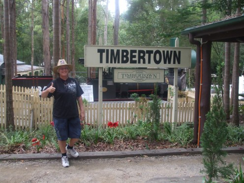 Timbertown at Wauchope near Port Macquarie