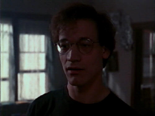 The somewhat peculiar Hank is played by the somewhat peculiar Ted Raimi.