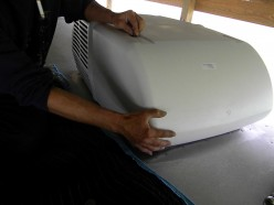 How To Install A Coleman RV AC Rooftop Air Conditioner