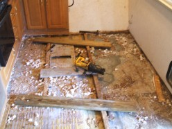 RV and Camper Trailer Floor Replacement & Repair. Step-By-Step Photos &FAQS