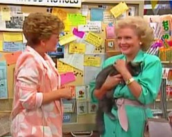 Blanche and Rose meet for the first time.