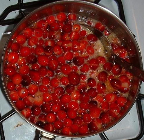 Cranberries Cooking