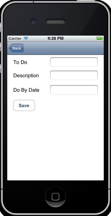 Figure 2: Input Screen