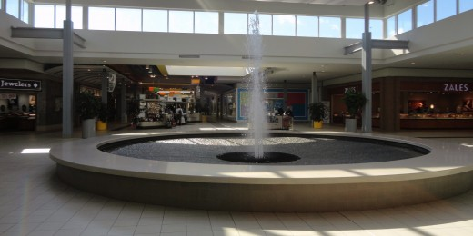 Hang out at the mall! But be warned that your pastors and your family would likely be disappointed in you. (photo of Oakwood Center, Gretna, LA)