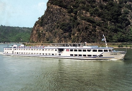 I cruised the Rhine one summer as an entertainer.