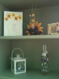 If you have a greeting card you just love and haven't been able to part with...display it in a creative way.