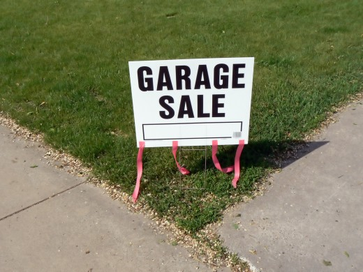 Everyone Loves A Garage Sale!