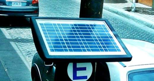 small solar panel