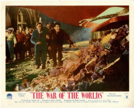 The War of the Worlds (1953) lobby card