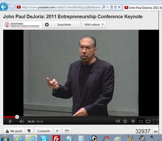 John Paul DeJoria at the Stanford Graduate School of Business.