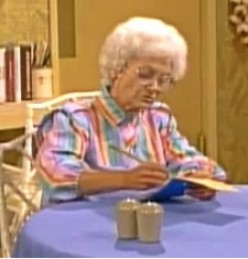 Sophia Petrillo calculates profit potential for her sandwich business.