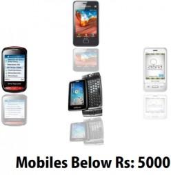 Phones below 5000 Rupees: The Best Five in India | 2012