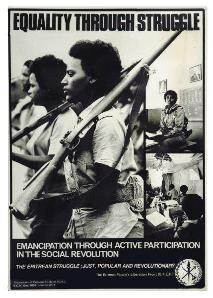 Poster Encouraging Revolution against male dominance