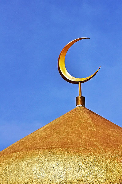 Islam uses the lunar calendar to track the passage of time, and has also adopted it as a religious symbol.