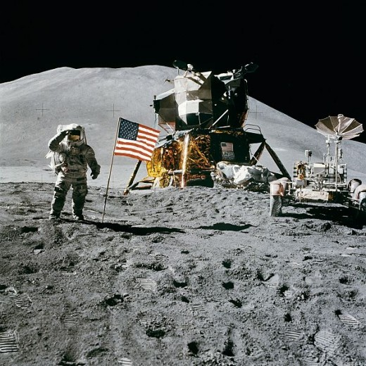 Humans have been fascinated by the Moon for thousands of years. The fascination proved strong enough for the USA to eventually land three astronauts on the Moon's surface in 1969.