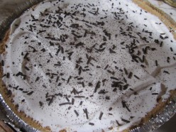 Easy No Bake Chocolate Pudding Peanut Butter Pie Recipe - Kids Cook Monday