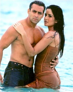Salman Khan and Katrina Kaif in Maine Pyaar Kyun Kiya.