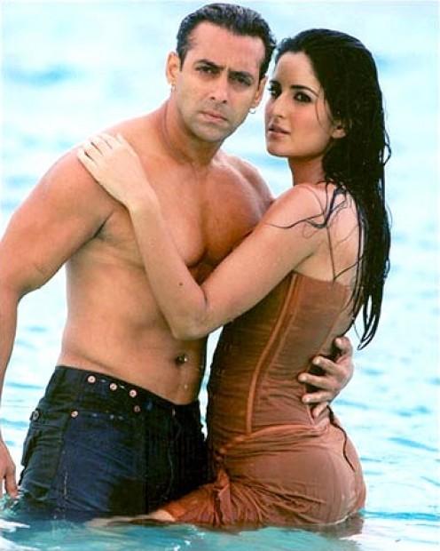 Salman Khan and Katrina Kaif in Maine Pyaar Kyun Kiya.