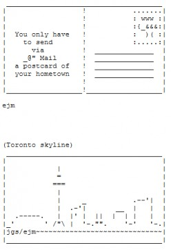 Find ASCII Art for Holidays and Events