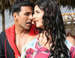 Akshay Kumar and Katrina Kaif in Welcome.