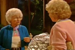 Rose: Shouldn't we have dry ice to keep these cold until lunchtime?  Sophia: Are you crazy? We should charge extra for a hot lunch!