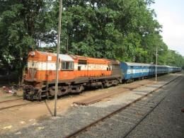Nilambur Train At Nilambur Station