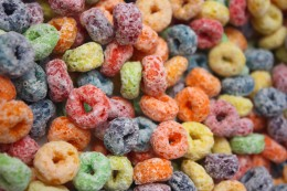 Colorful Sugary Cereal