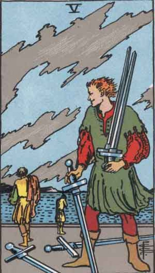 Five of Swords (copyright-free)