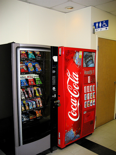 junk food and soft drinks