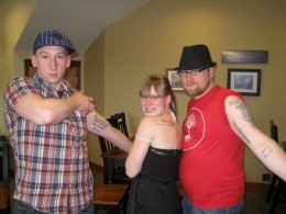 me and two of my siblings got tattoos in remembrance of my uncle