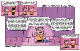 A more accurate speech for A Charlie Brown Christmas.
