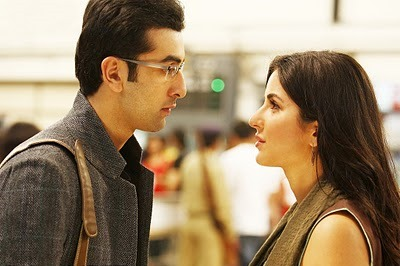 Ranbir Kapoor and Katrina Kaif in Rajneeti.
