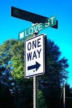One Way Street:  A Poem