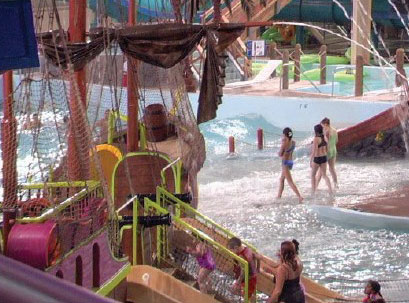 H20asis water park is located in Anchorage, Alaska