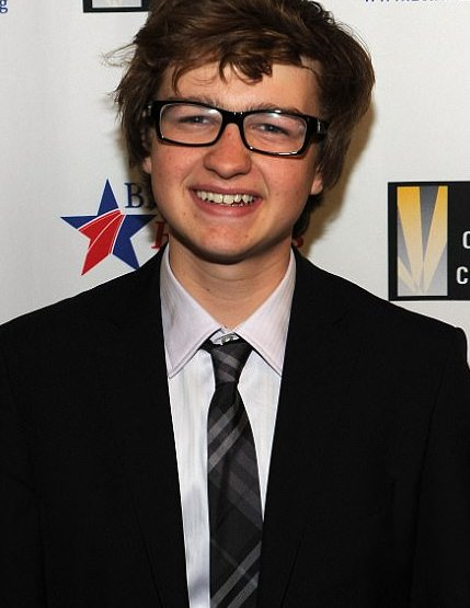 Angus Jones, now 18 is a teenager who we've all seen grow up on TV as Jake Harper on Two and a Half Men