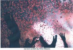 Red Bird Confetti